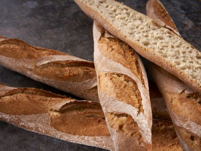 Baguettes met poolish