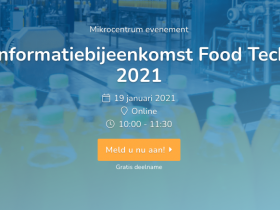 Informatiebijeenkomst Food Technology