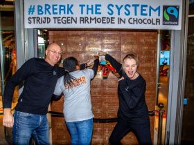 Fairtrade - Max Havelaar opent chocolade pop-up